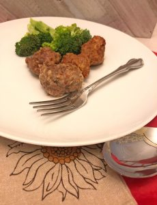 recipe for easy foil packet meatballs