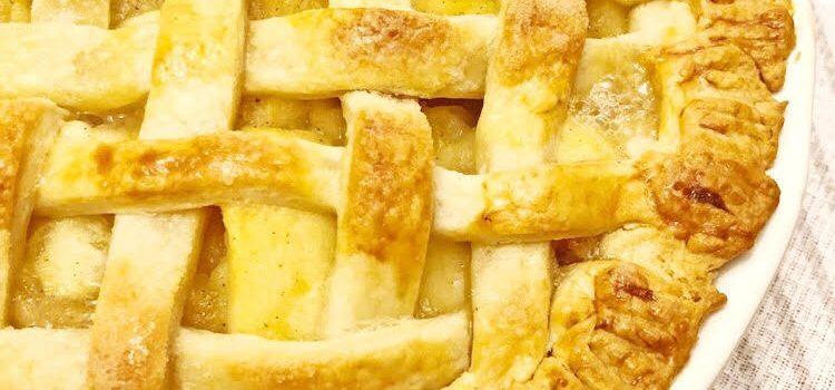Homemade Lattice Apple Pie Recipe