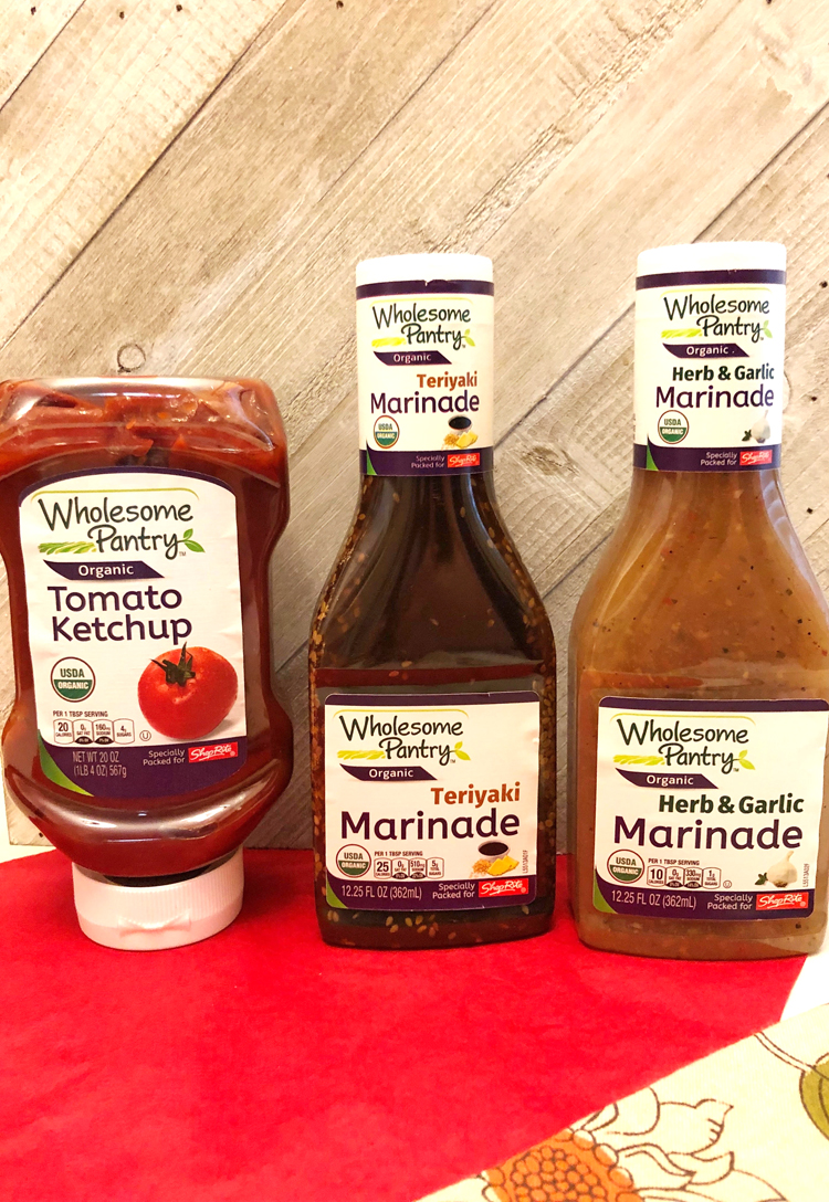 Wholesome Pantry ketchup and marinades make grilling on the grill easy and delicious