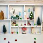 DIY Christmas Display Box | Handmade Christmas Decor Blog Hop