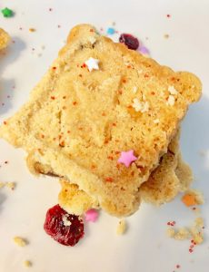 Cranberry Shortbread Cookies  | Taste Creations Blog Hop