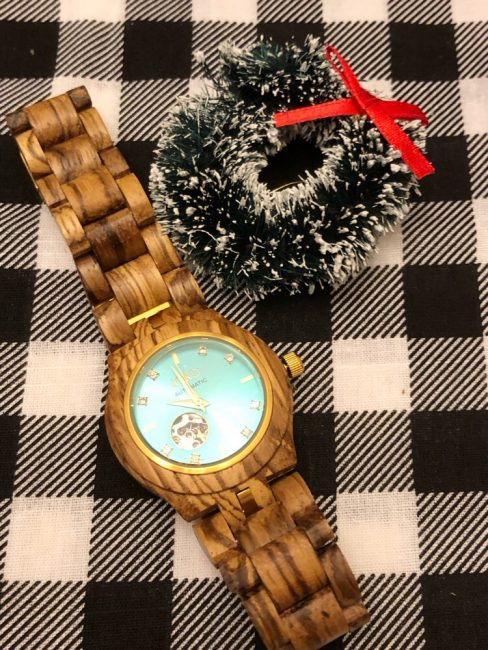 A Jord wood watch is a beautiful holiday gift