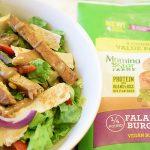 Falafel Green Salad with Tahini Sauce