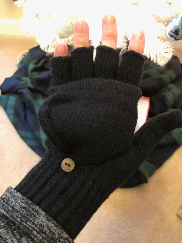 Bearpaw glove and headband set