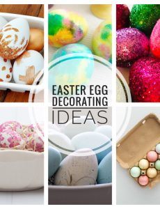I love these beautiful Easter egg decorating ideas!