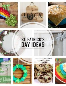 Fun recipes and decorating ideas for celebrating St. Patrick's Day