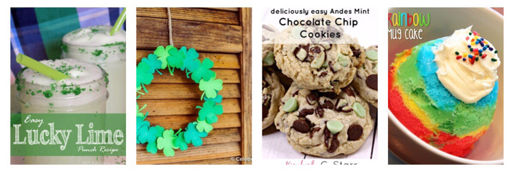 I love these recipes and craft ideas for St. Patrick's Day!