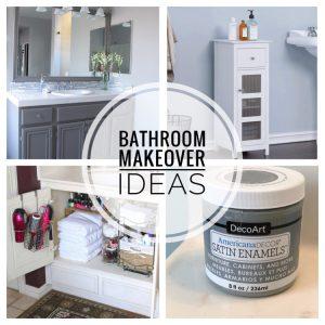 blue and gray bathroom makeover ideas