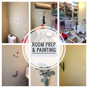Bathroom remodel - ORC - week 2: How to prep a room for painting