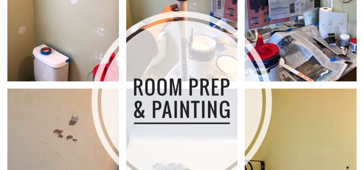 Bathroom Makeover – ORC (Week 2) | Room Prep & Painting