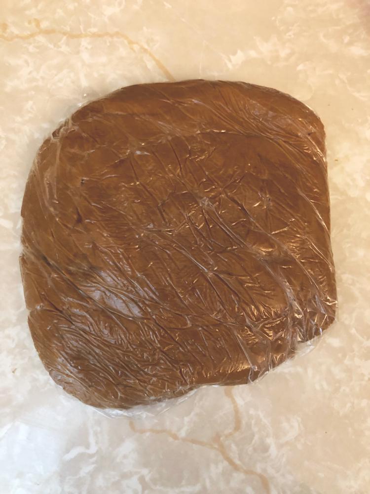 Gingerbread cookie dough recipe