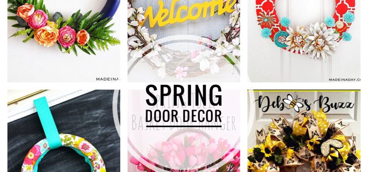 Spring Door Decor — Merry Monday #247