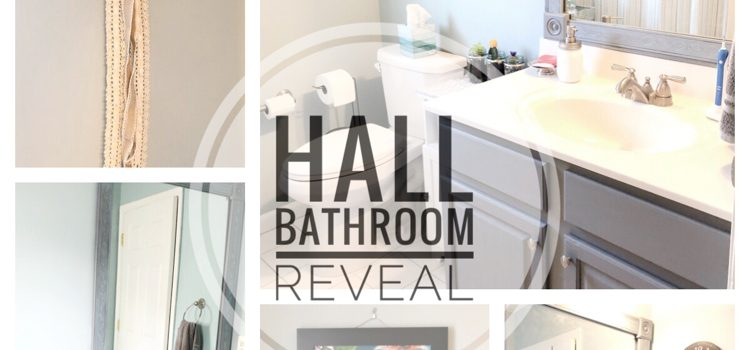 Hall Bathroom Reveal – One Room Challenge