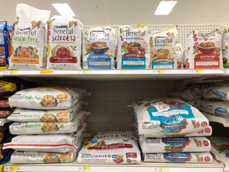 Purina Beneful dry dog food at Target
