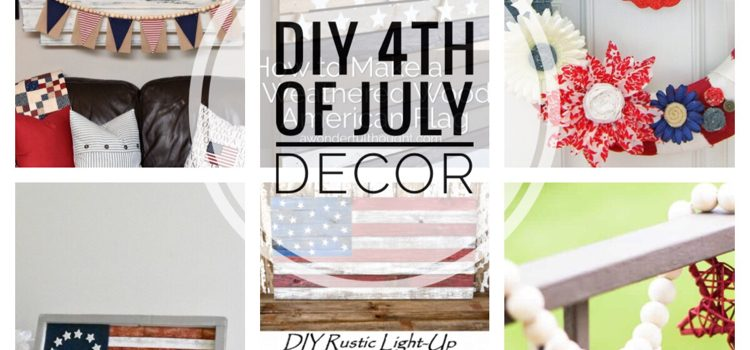 DIY 4th of July Decor — Merry Monday # 252