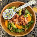 Smoky Ginger & Orange Salmon Salad