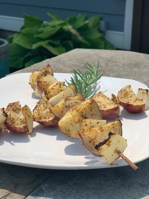 potato and onion kebabs