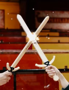Marvelous jousting is part of the show at Medieval Times