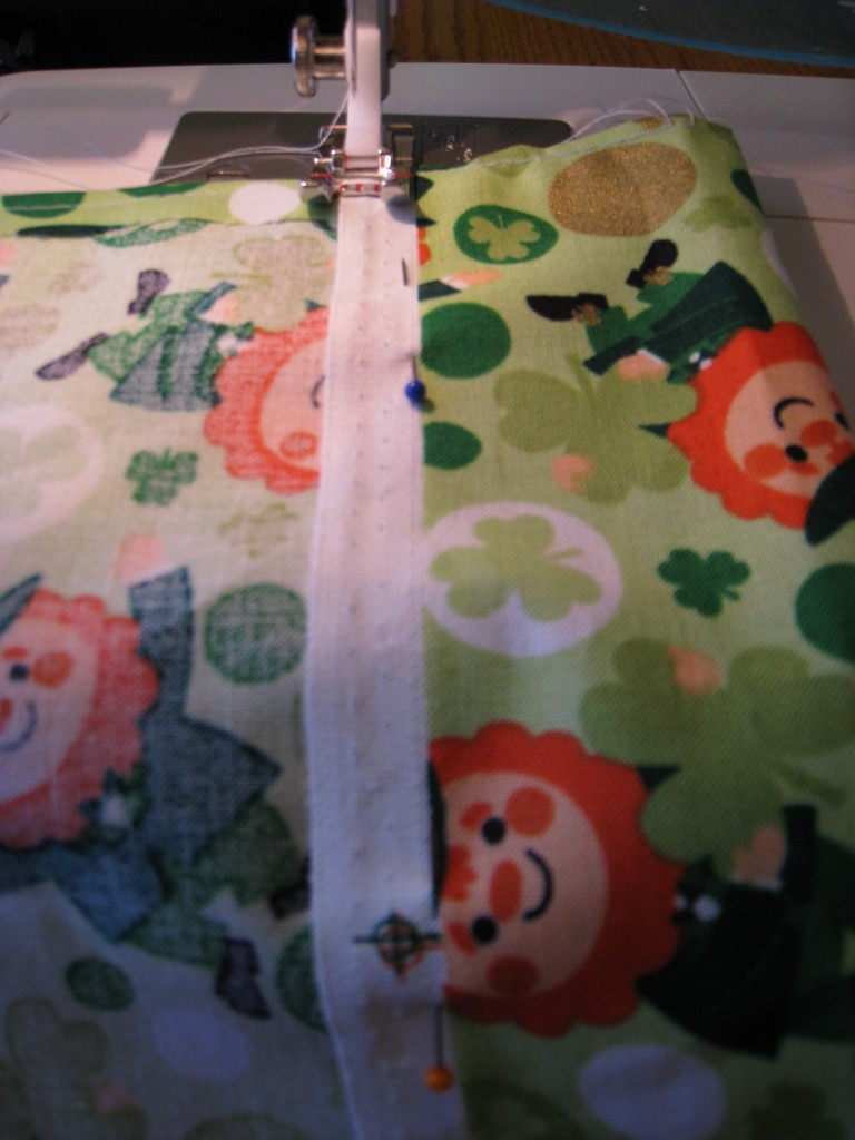 sew, st. patricks day, flag
