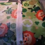 Craft: a St. Patrick's Day Garden Flag