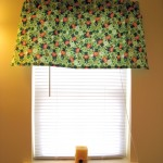 Sewing a Handmade St. Patrick's Day Curtain Valence