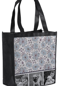 Petunia Blossom Resuable tote from InkGarden.com