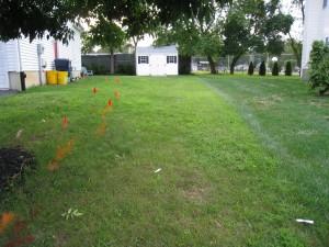 utility markings