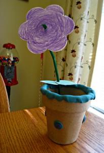 clay, flower, craft, Kiwi Crate
