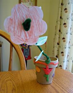 Kiwi Crate, flower, clay, craft