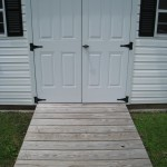 Sprucing Up a Storage Shed