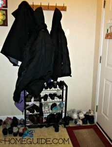 foyer, organize, shoe, rack