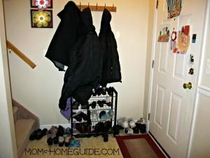 foyer, organize, shoe, rack