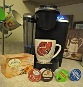 K Cup, Keurig, coffee, tea, apple cider