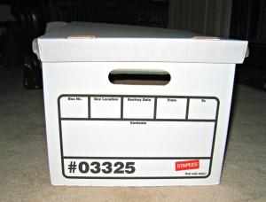 storage, box