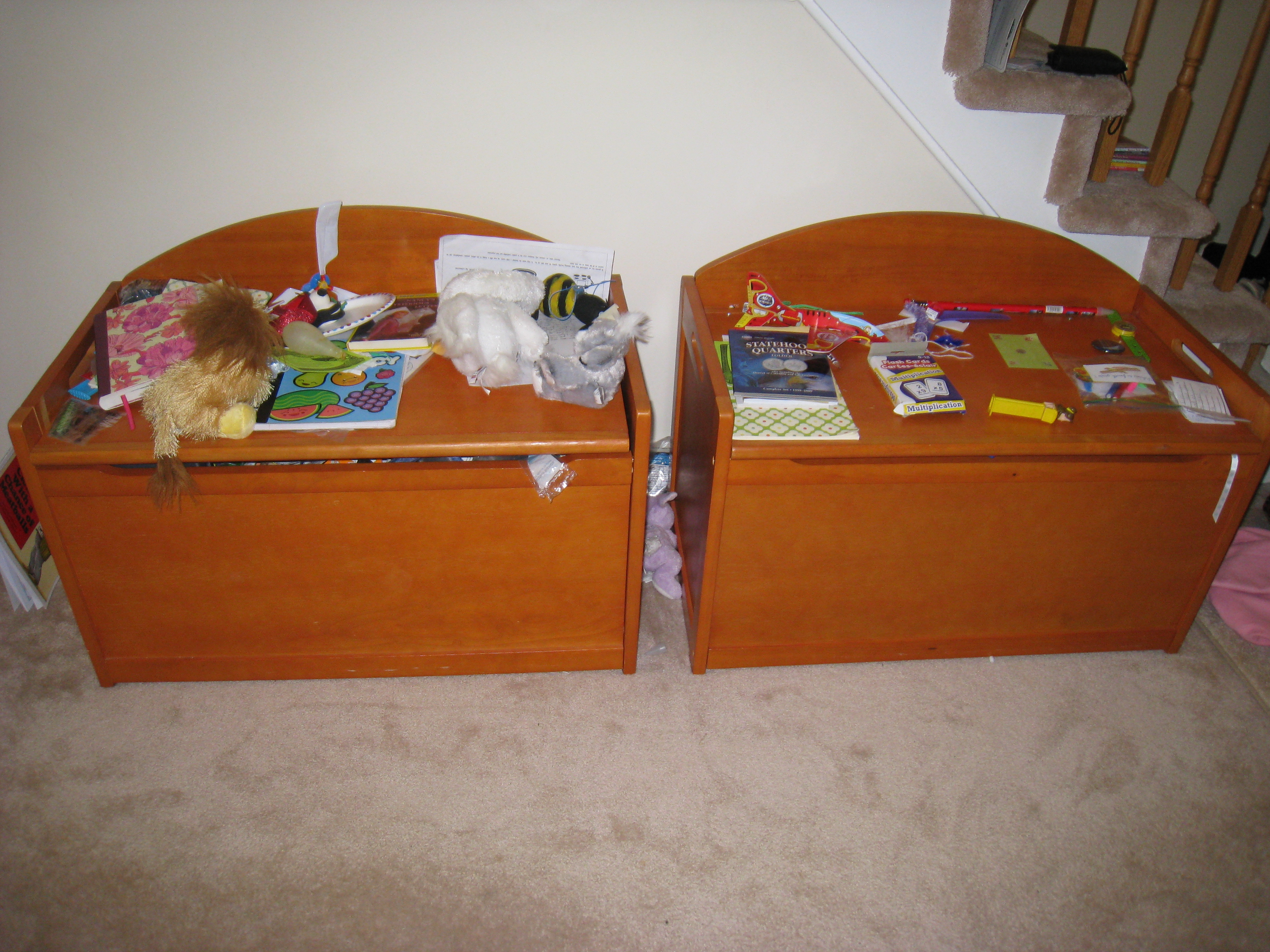 Toy Box Clutter Organize