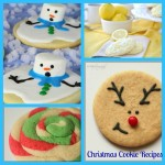 christmas, cookie, recipe, snowman, swirl, lemon, reindeer