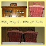baskets, storage, kitchen