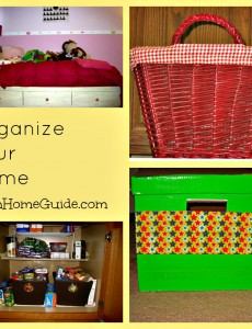 how to, organize, home