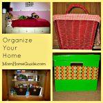 organize, home