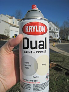 Krylon, dual, paint, primer, spraypaint