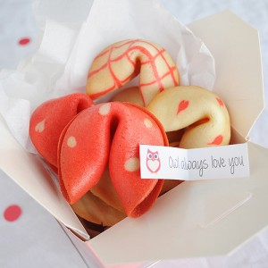 valentine's day, fortune cookie, printables