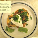 Chicken Enchilada Casserole / Enter to Win $5,000