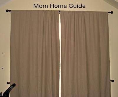 drapes, room darkening