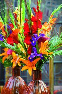 liles, vase