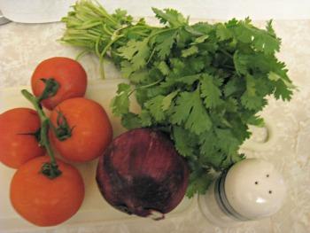 Healthy salsa ingredients