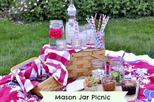 mason jar picnic, craft