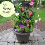 DIY Flower Tower
