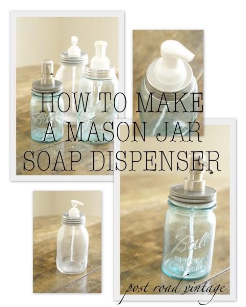 mason jar, craft, soap, dispenser
