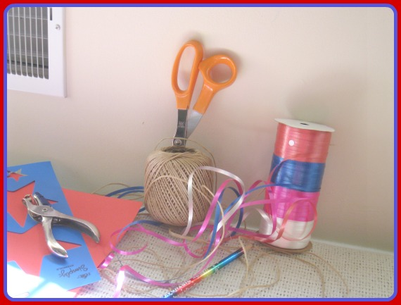 wreath, patriotic, fourth of july, supplies, craft