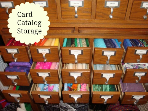 craft, supplies, storage, card catalog